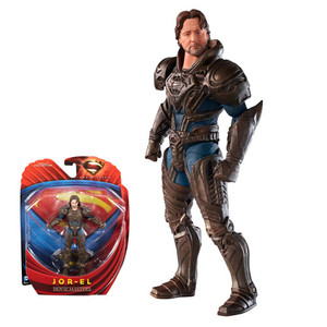 Superman Man of Steel Movie Masters Jor-El Action Figure