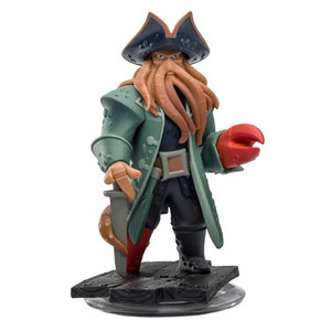 Disney Infinity Pirates of the Caribbean Davy Jones Video Game Figure