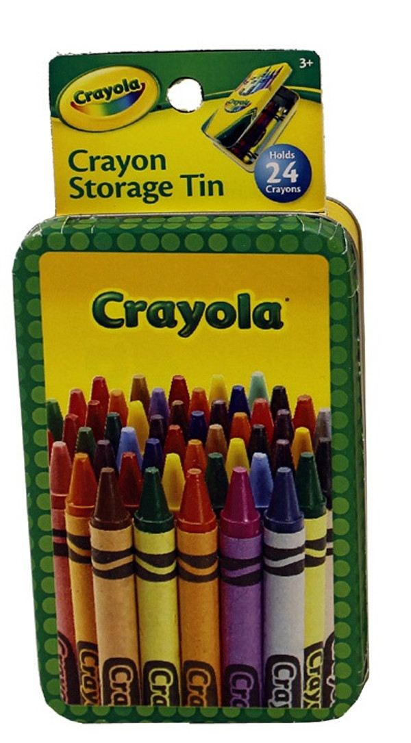 Crayola Small Storage Tin