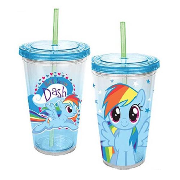 My Little Pony Rainbow Dash 18 oz. Acrylic Travel Cup