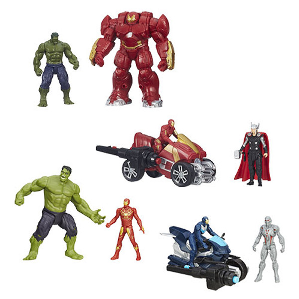 Avengers: Age of Ultron 2 1/2-Inch Deluxe Figures Wave 2 Set