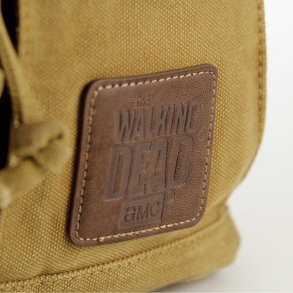 The Walking Dead Sheriff Rick Grime's Desert Brown Backback
