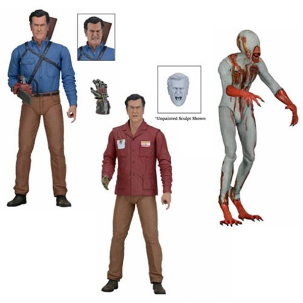 Ash vs. Evil Dead Series 1 Action Figure Set