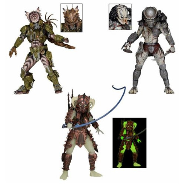 Predator 7-Inch Scale Series 16 Action Figure Set