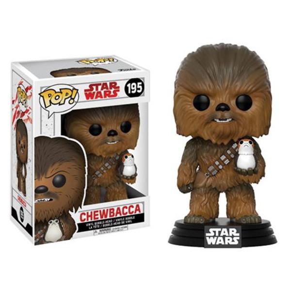 Star Wars: The Last Jedi Chewbacca Pop! Vinyl Bobble Head