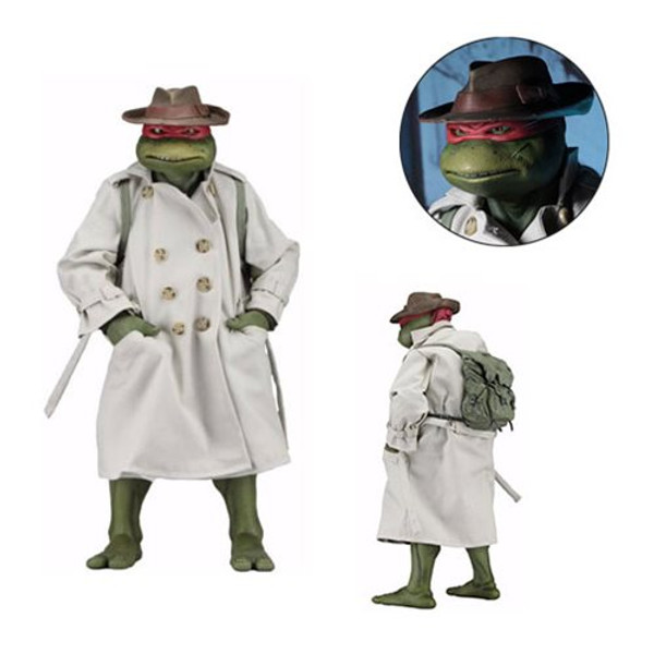 Teenage Mutant Ninja Turtles Movie Raphael in Disguise 1:4 Scale Action Figure