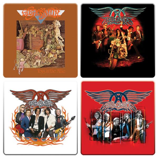 Aerosmith Coaster 4-Pack