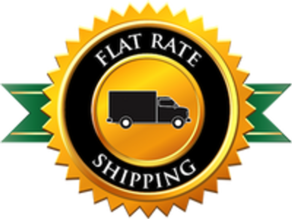 Great News...We switched to a Flat Rate Shipping Model!