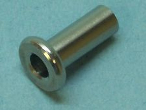 "Type 316 Stainless Steel Protector Sleeve for 1/8"" to 3/16"" Cable Railing  (Minimum Order 10 Sleeves)"