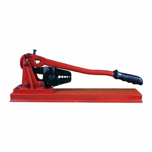 """Bench Type Hand Swager with Built-in Cutter, China:1/16"""", 3/32"""", 1/8"""", 5/32"""", 3/16"""" Aluminum and Copper Sleeves"""