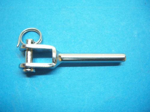 """Type 316 Stainless Steel Hand Swage Jaw  Terminal for Cable Railing - for 3/16"""" Cable"""