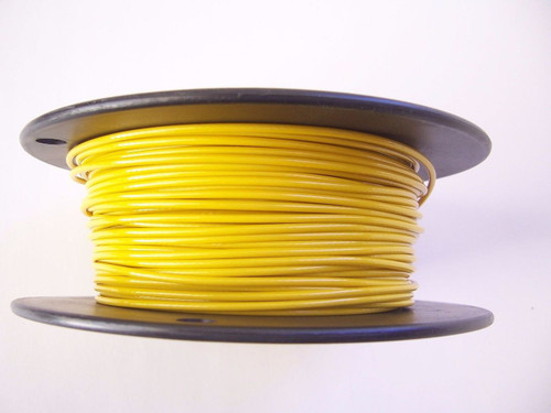 """YELLOW Vinyl Coated Cable, 1/16""""-3/32"""", 1000 ft"""