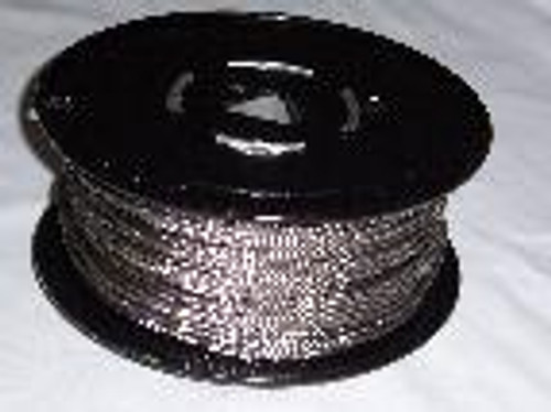 "316 Stainless Steel Wire Rope, 3/16"", 7x19, 500 ft reel"