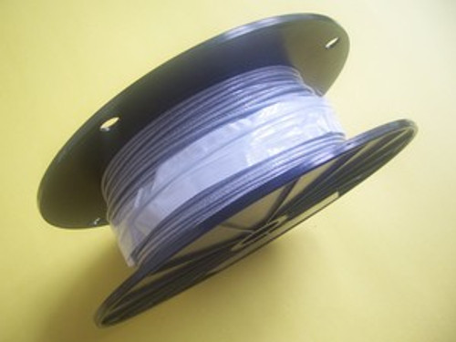 "Clear Vinyl Coated Cable, 1/16""- 3/32"", 1000 ft reel"