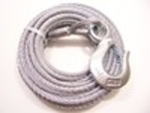 """Galvanized Winch Cable, 5/16"""" x 50 ft, Tie Down Engineering 50427"""