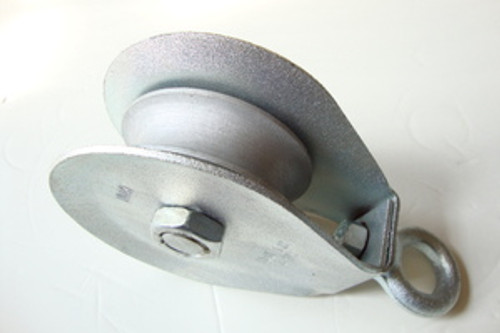 "4"" Hay Block Rope Pulley"