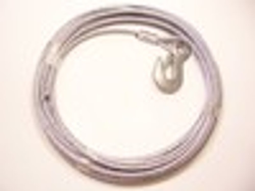"""Galvanized Winch Cable, 7/32"""" X 50 ft"""