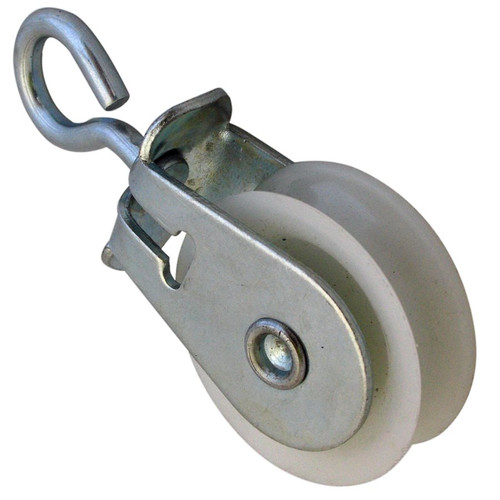 """1-7/8"""" Plastic Pulley with Swivel Eye, Box of 200 pulleys"""