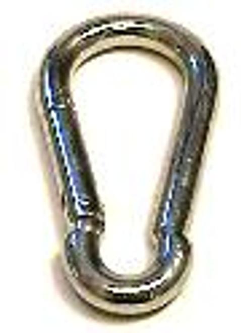 "Zinc Plated Spring Hook, 3/16"""