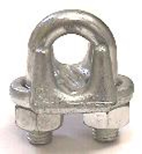 """Drop Forged Wire Rope Clip 1/4"""""""