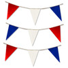 These flag pennants are also available with just Red, White & Blue flags.