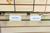 Clip on UPC Label Holder for Glass Shelves - 50 Pack