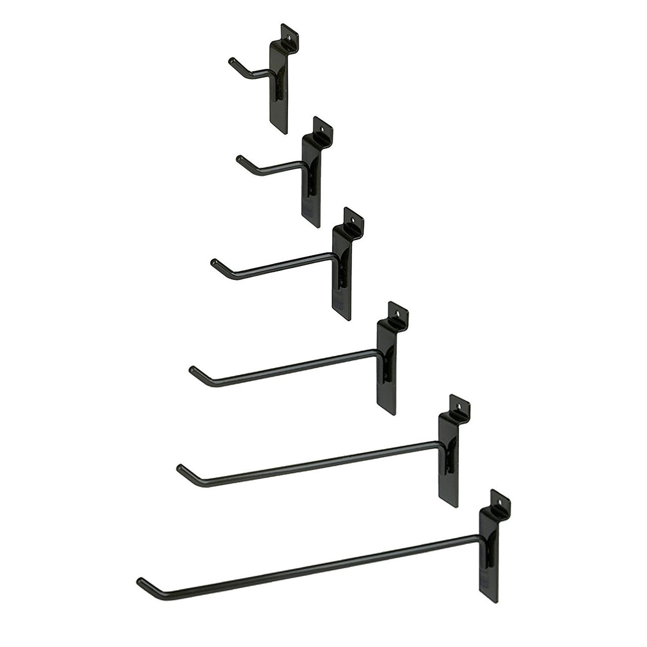 Black Slatwall Hooks - Store Fixtures Direct