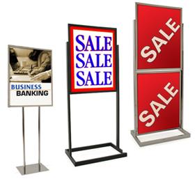 Bulletin Sign Holders
