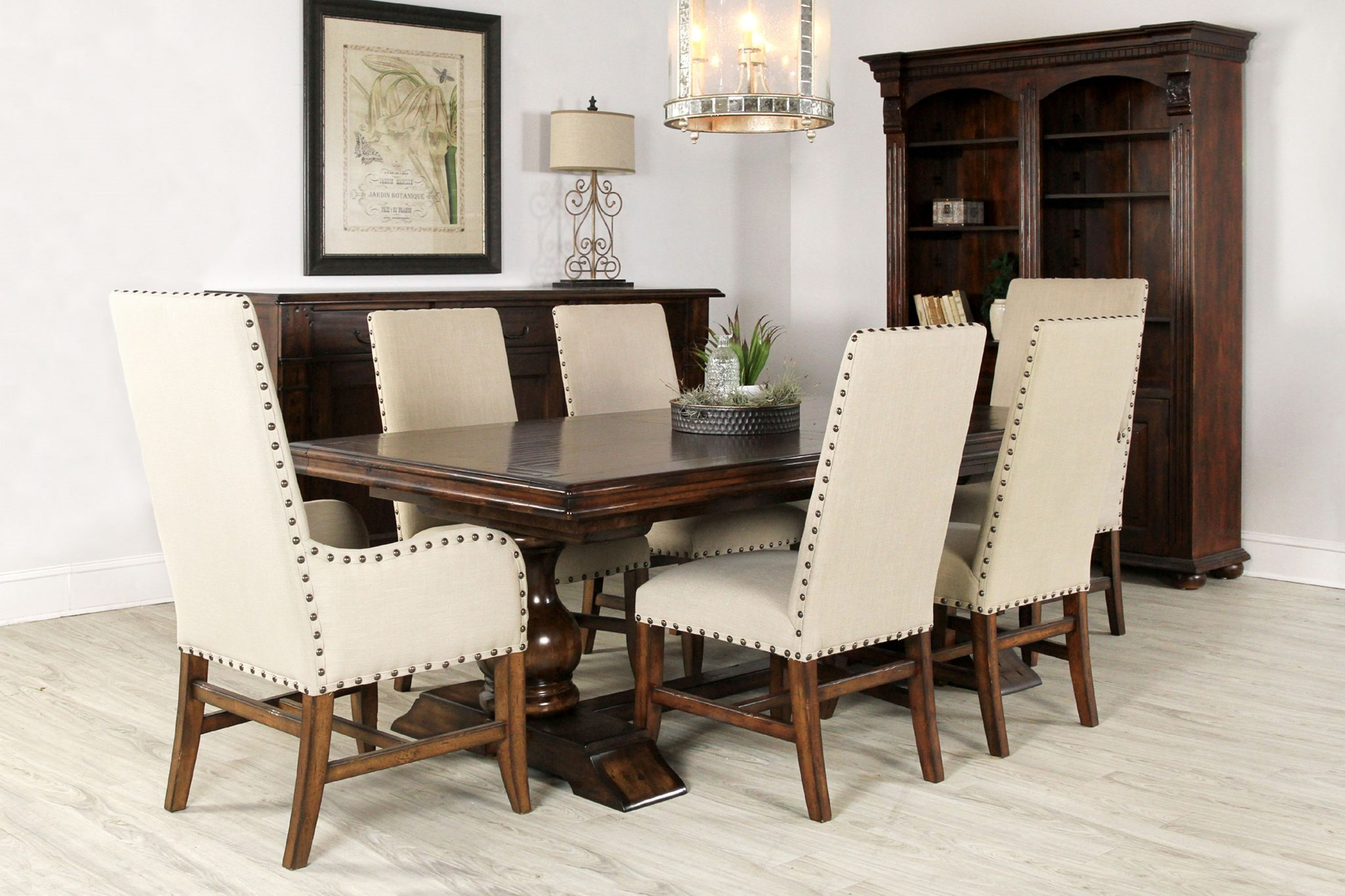 Tuscan Extension Dining Room Table Rich Finish