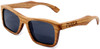 Cloudbreak Polarized Square Zebrawood Sunglasses Side