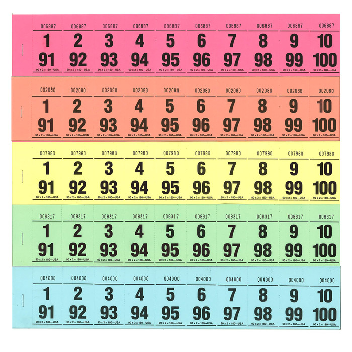 Paddle Tickets - 90 x 2
