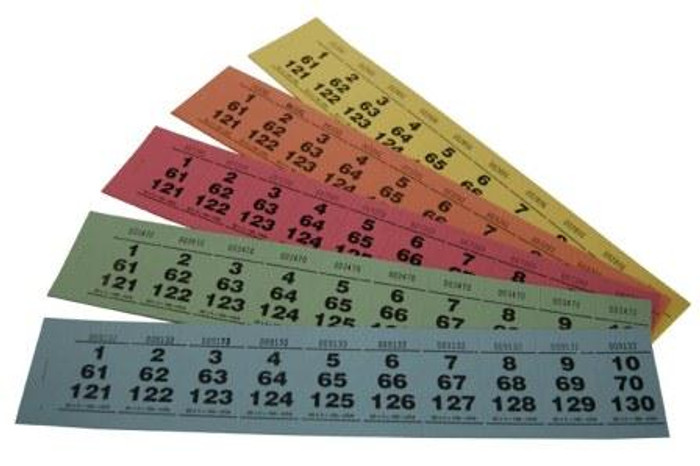 Paddle Tickets - 80 x 3