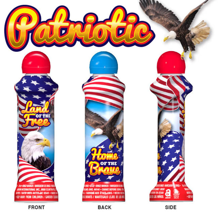 Patriotic Eagle Daubers