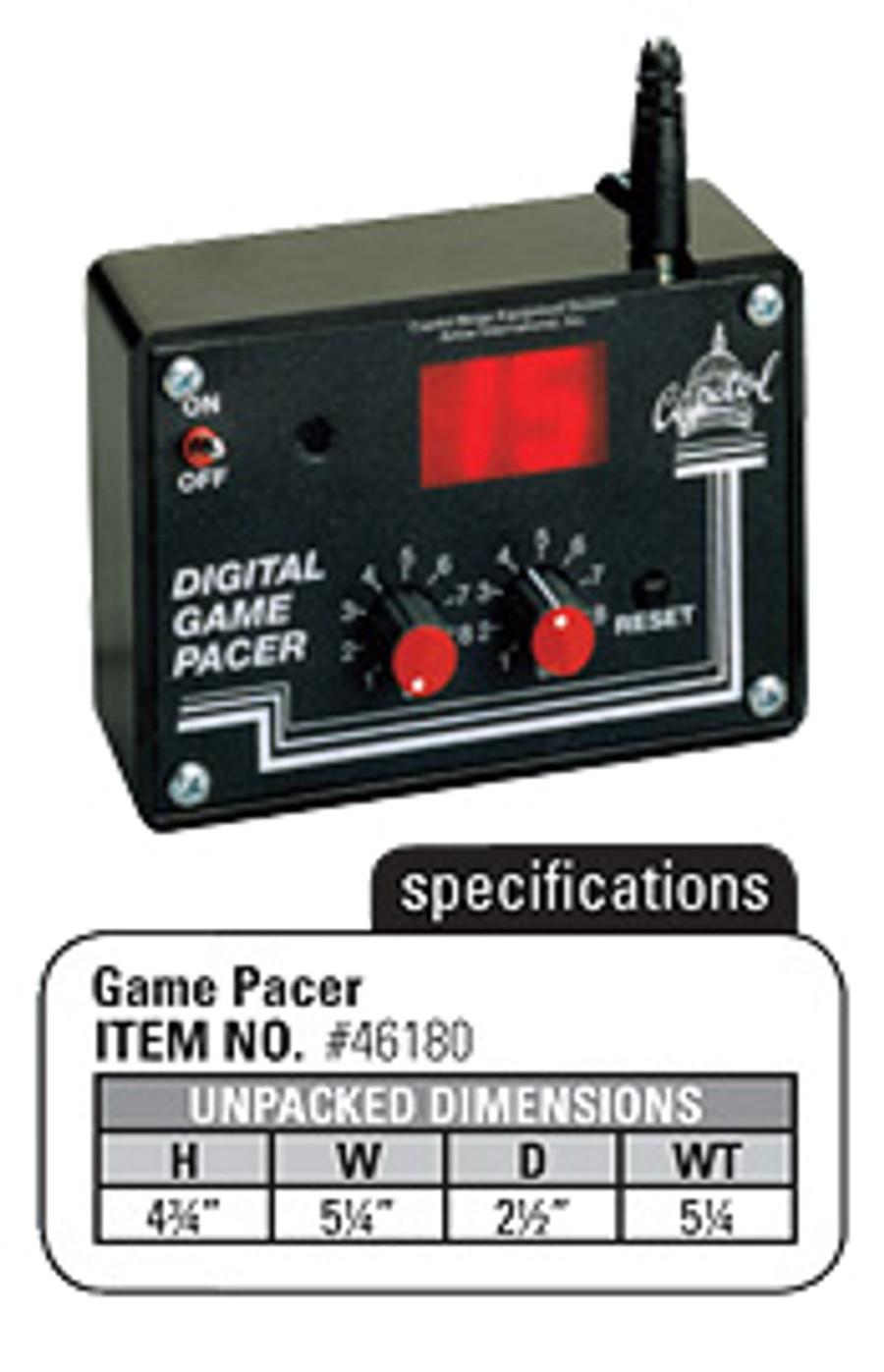 Digital Game Pacer