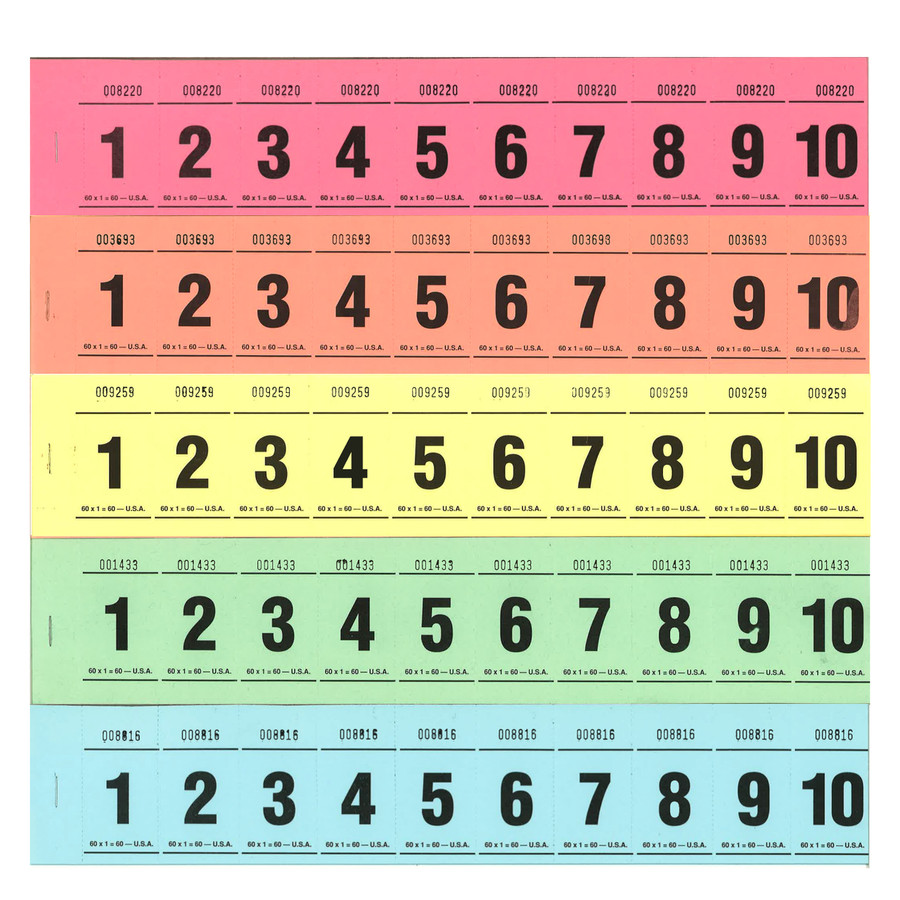 Paddle Tickets - 60 x 1