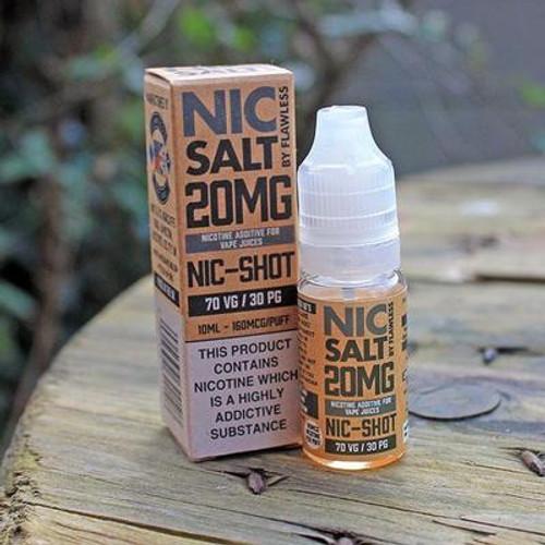 Nic Salt Shot By Flawless 10ml 20mg