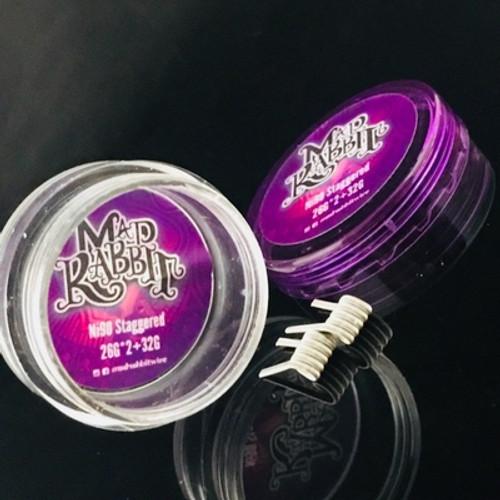 MAD RABBIT PRE MADE COILS ( NICHROME 80/90)Handmade