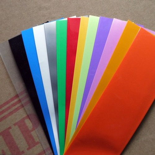 FREE ---Colored heat shrink wrap 18650 with Insulation paper--- FREE