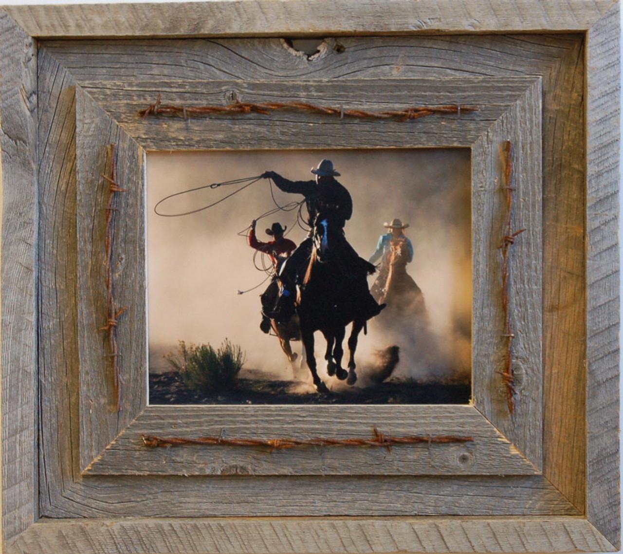 Barnwood Frame | Reclaimed Wood Frame 8x10