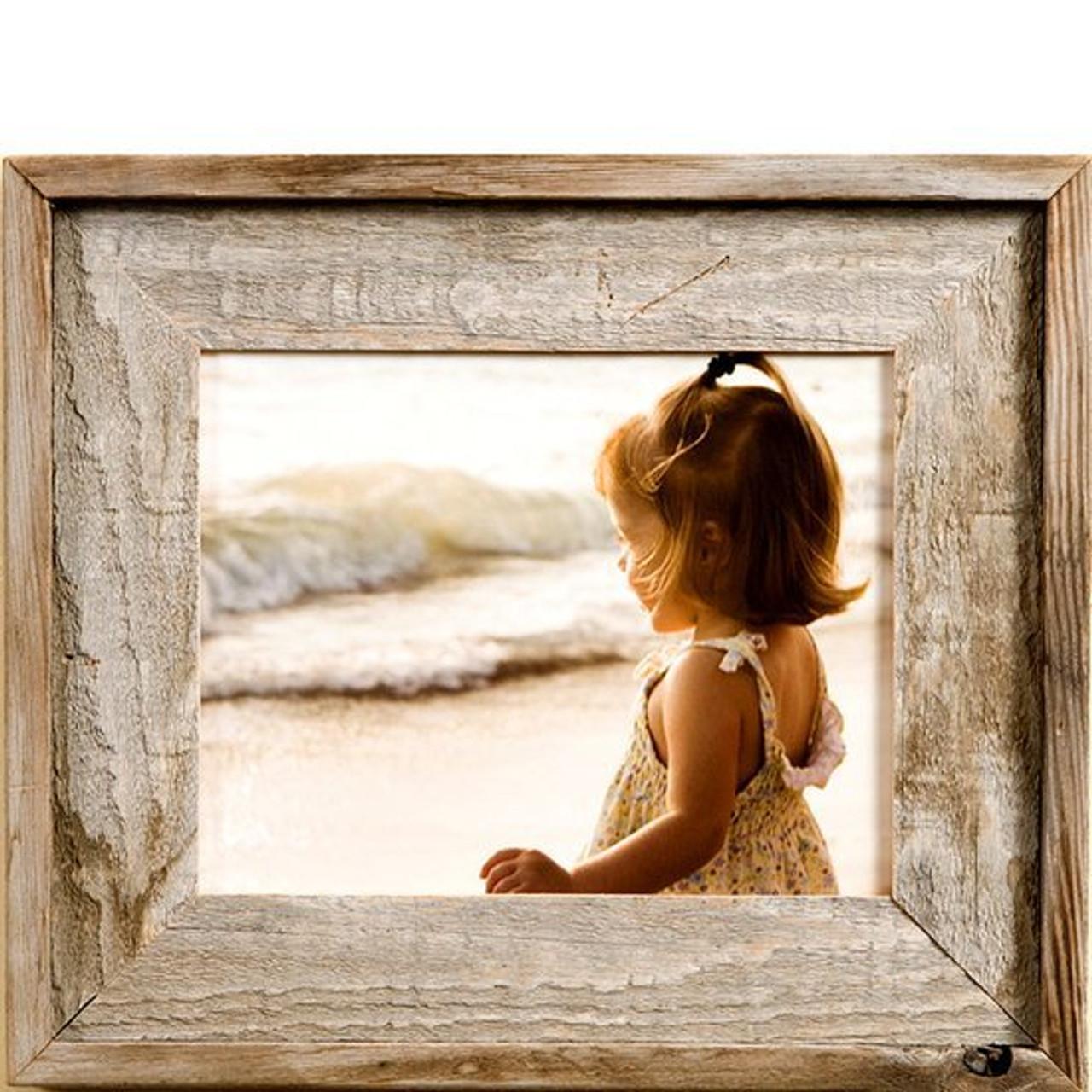 Rustic Frames   Reclaimed Barnwood Frame 24x30