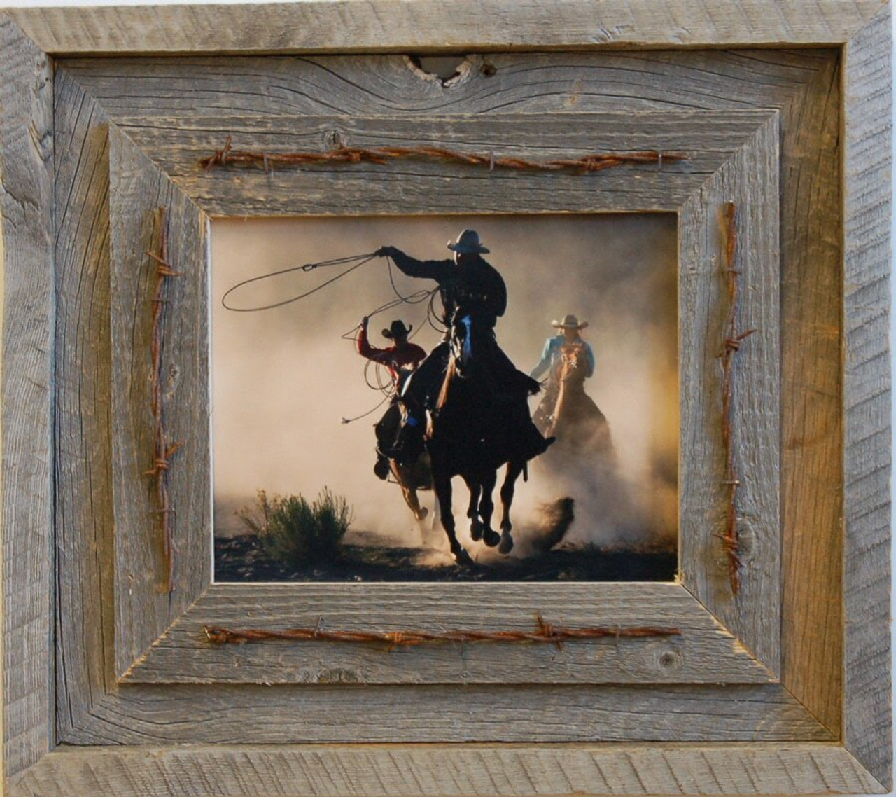 Western Barnwood Picture Frame 16x20 Reclaimed Wood