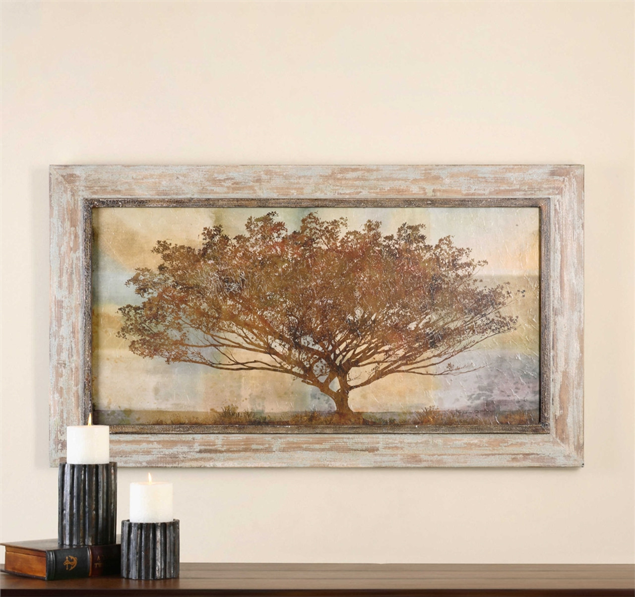Uttermost Autumn Radiance Sepia Framed Art ...