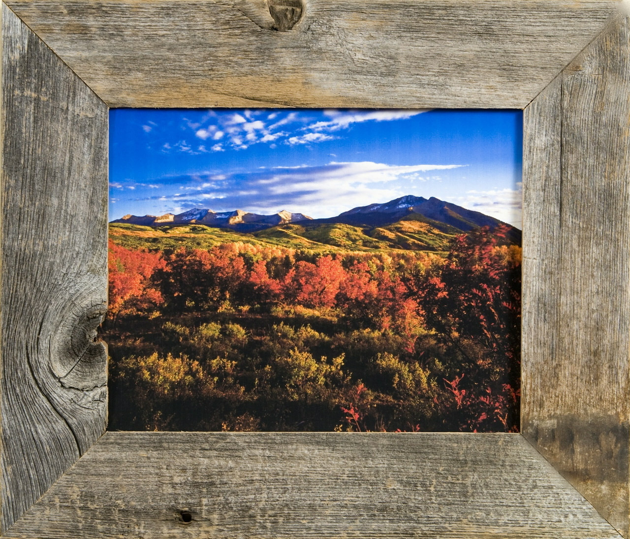 Barnwood Frames | Reclaimed Rustic Wood Frame 11x14