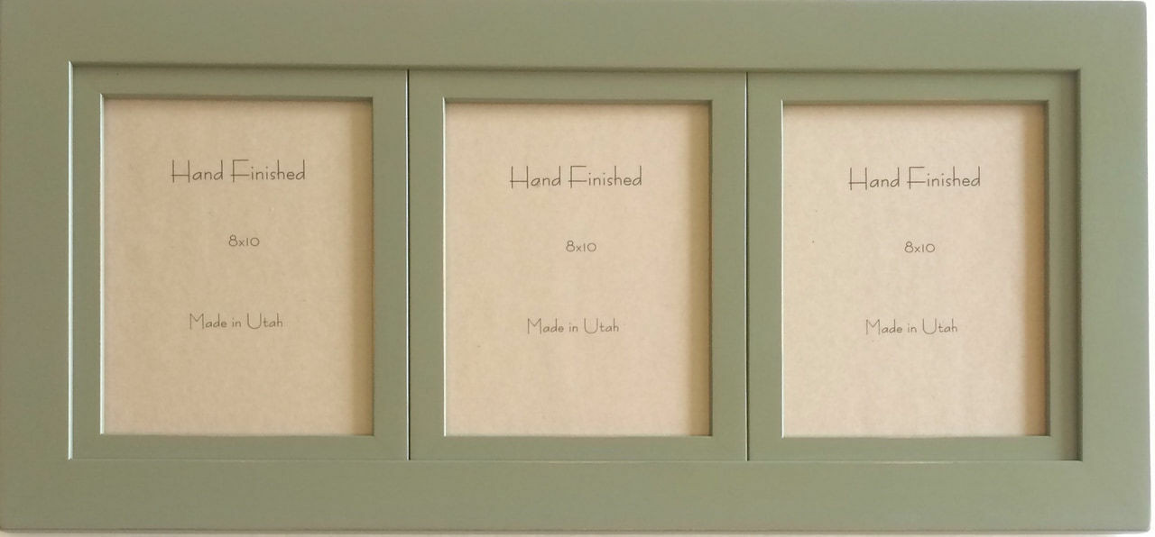 Sage Green Triple Frame | 5x7 Openings Collage Frame