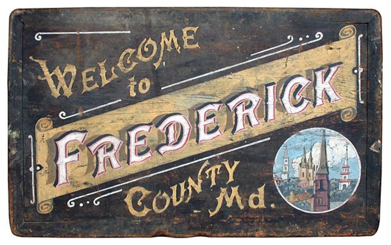 Vintage Welcome Travel Sign Vintage County Decor