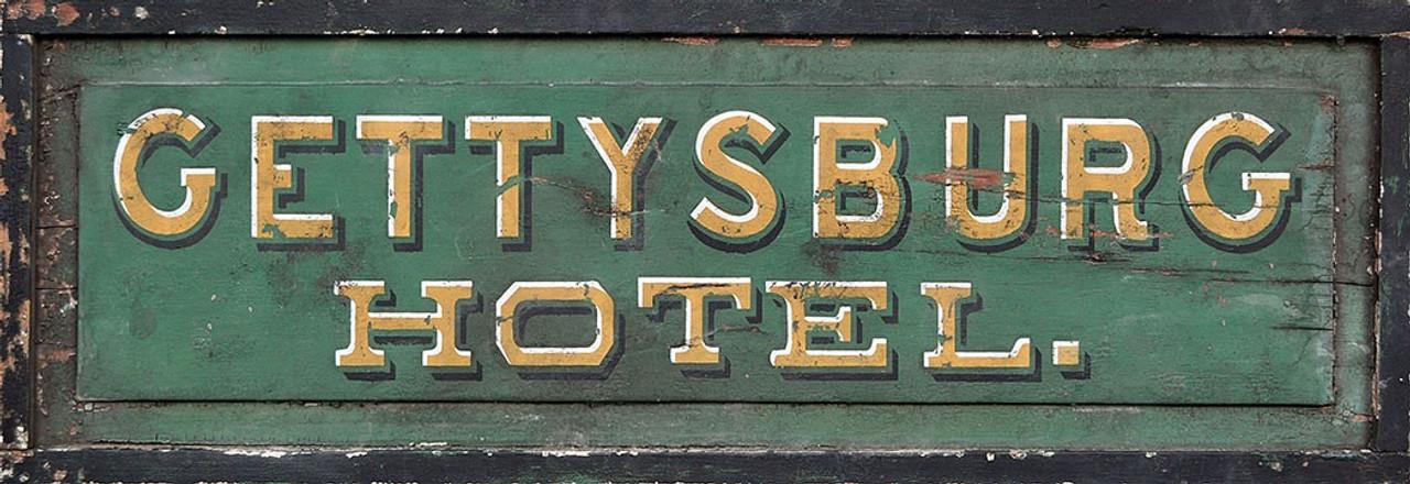 Vintage hotel sign rustic hotel decor for Vintage hotel decor