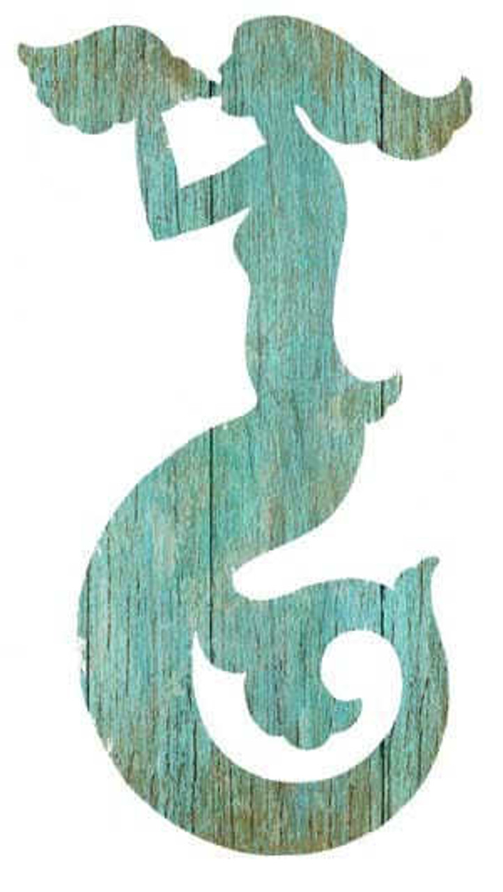 Mermaid Silhouette Sign Swimming Decor