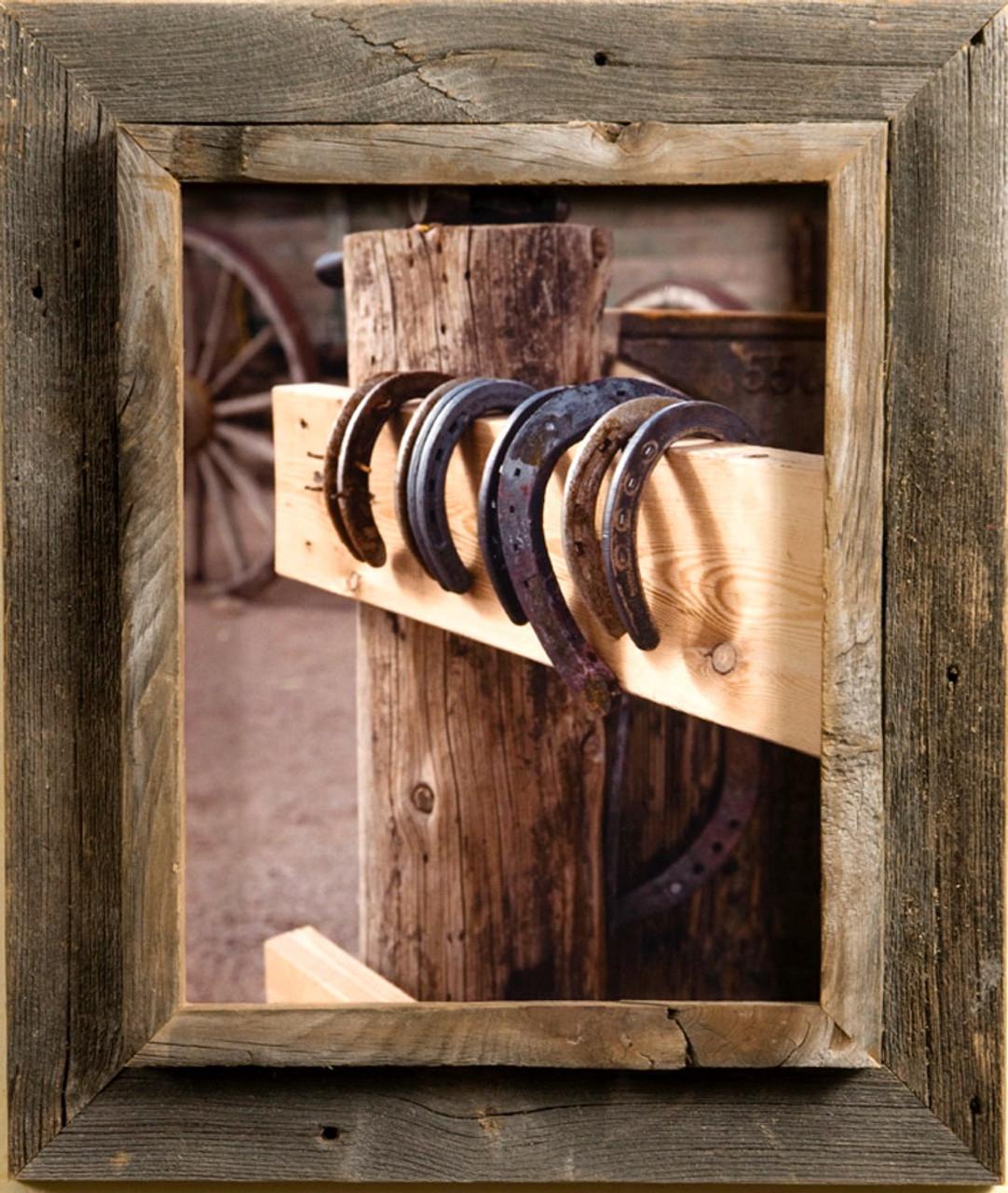 Cowboy Frame | Rustic Western Wood Photo Frame 16x20