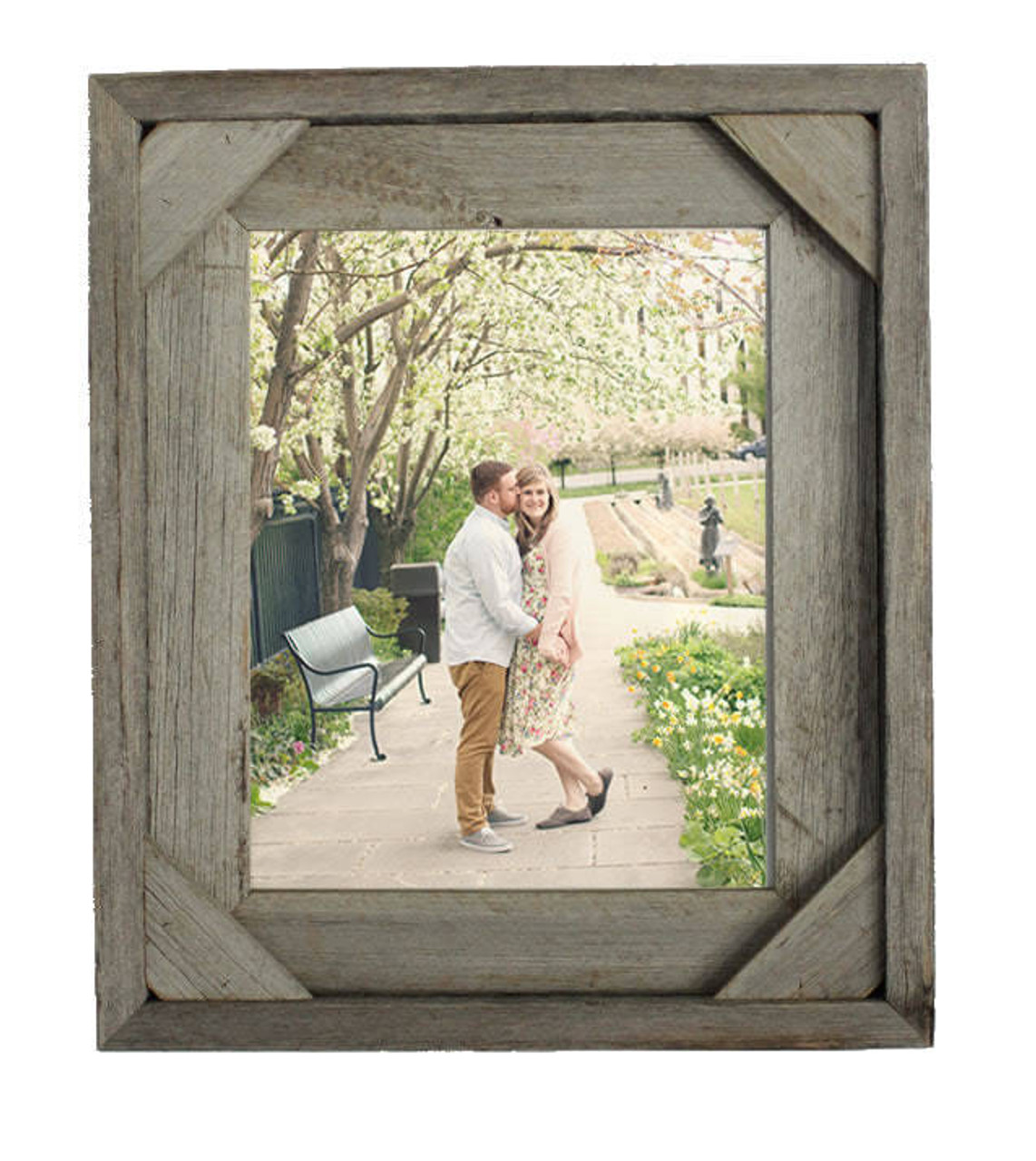 Barn Wood Frames | 20x24 Rustic Wood Picture Frame