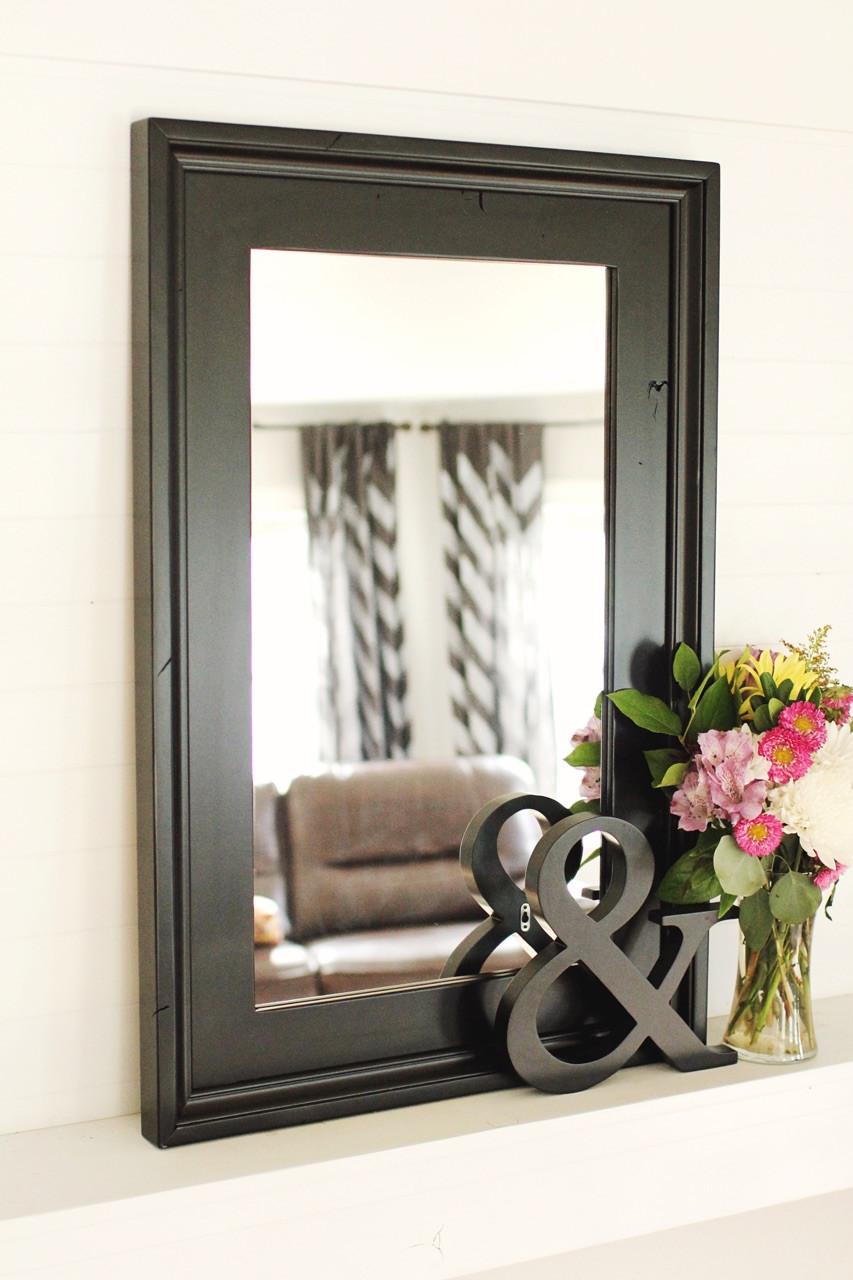 Black Mirror | Large Wall Mirror | Custom Sizing